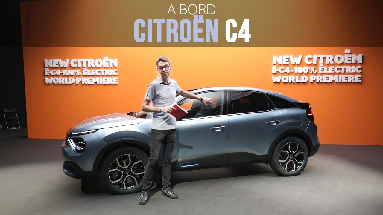 A Bord De La Citroen C4 2020 Youtube