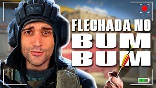 FLECHADA NO BUM BUM