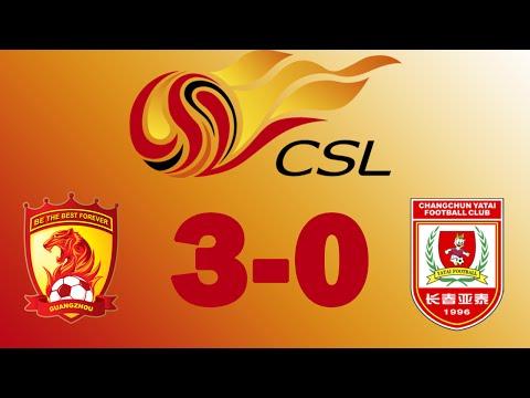 HD  Guangzhou Evergrande 3:0 Changchun Yatai  (jackson martinez , goulart ricardo , gao lin)