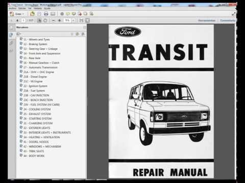 ford transit service repair workshop manual youtube rh youtube com Ford Tourneo 9 Passenger Inside Ford Tourneo