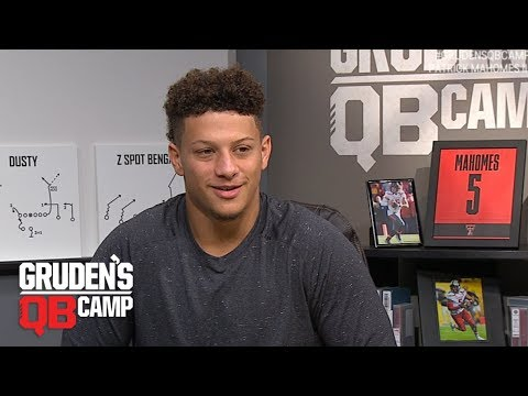 Patrick Mahomes goes through Gruden's QB Camp | ESPN Archives