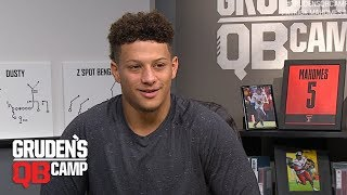 Patrick Mahomes goes through Gruden's QB Camp (2017) | ESPN Archive