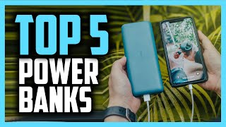 Best Power Banks iฑ 2020 - Top 5 Chargers For iPhone, Android & Laptops!