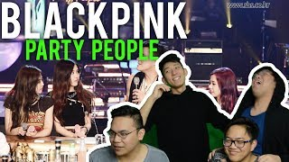 Video BLACKPINK on JYP's PARTY PEOPLE Reactions download MP3, 3GP, MP4, WEBM, AVI, FLV Agustus 2017