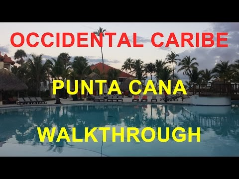 Occidental Caribe Punta Cana Dominican Republic Barcelo Walk Around Property Tour