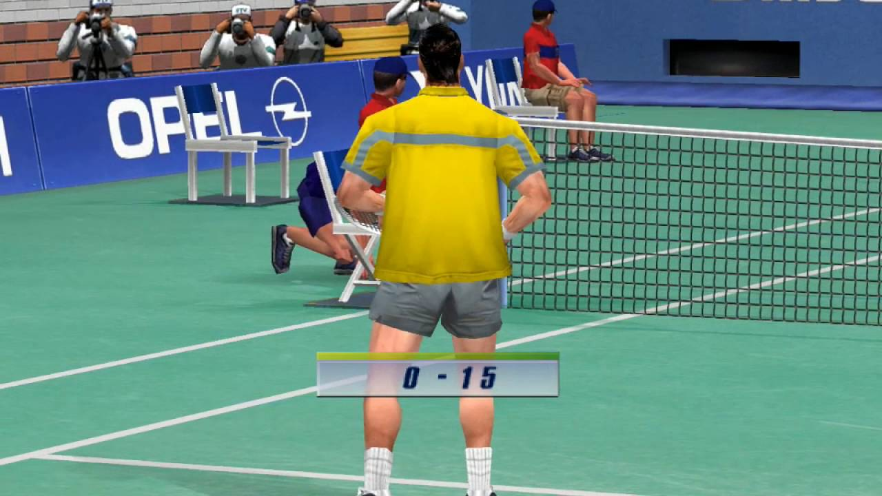 Power Smash 2 Virtua Tennis 2 1cc Patrick Rafter