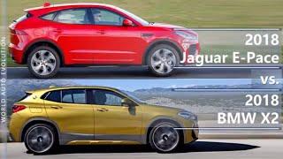 2018 Jaguar E-Pace vs 2018 BMW X2 (technical comparison)