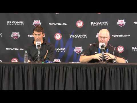 2016 U S Olympic Team Trials Swimming Michael Phelps, 200m Fly