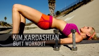 The Kim Kardashian Butt Workout