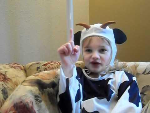 April the Cow :)