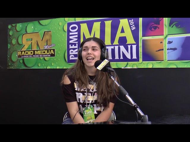 CATERINA PASTORE intervista su Radio Medua
