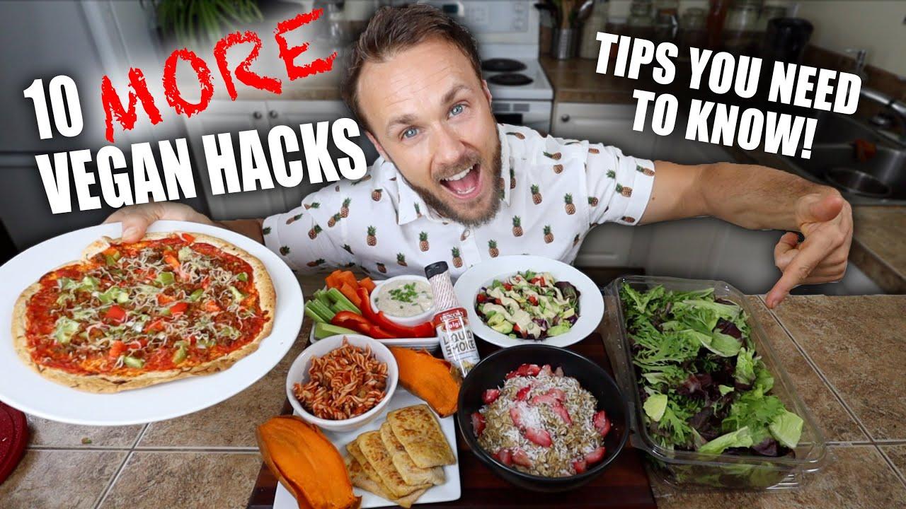 10 MORE Vegan Food Hacks That Will Change Your Life! 🔥🌱💪