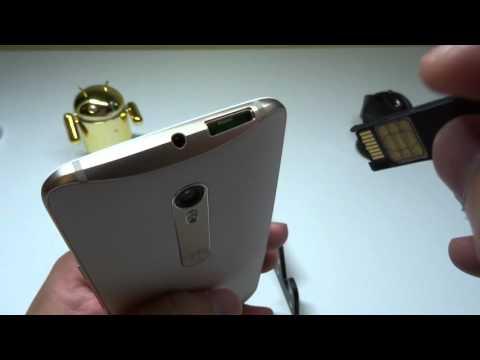 Moto X Style (Pure)-Inserting Sim & Micro SD Card