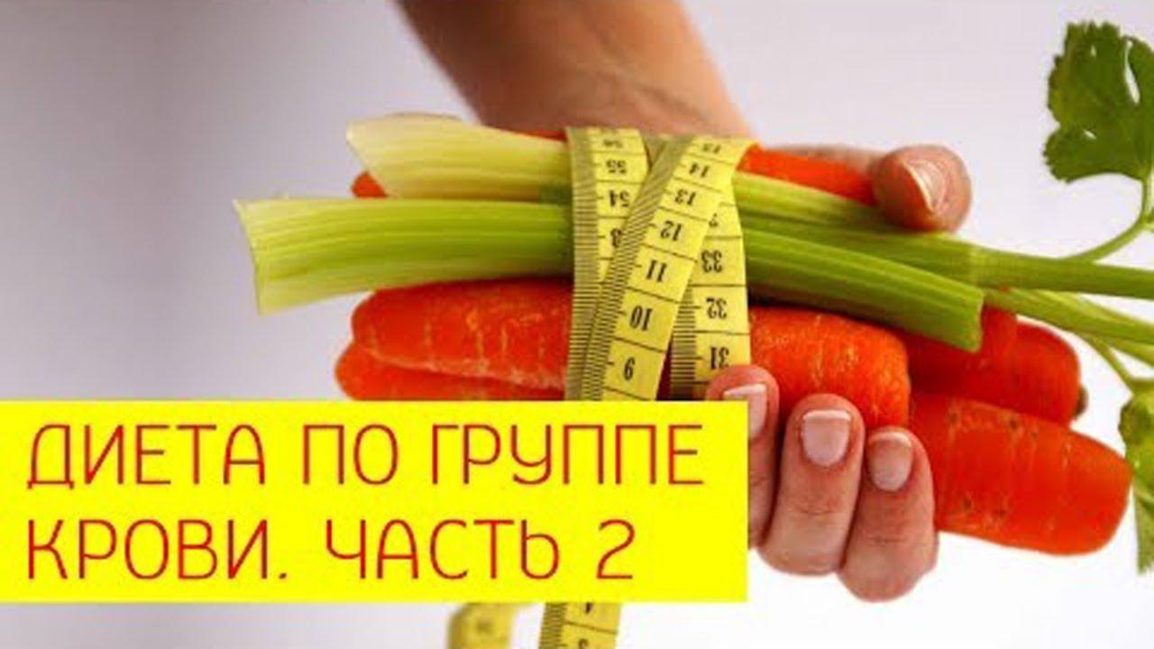 диета похудение по группе крови