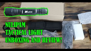 Tactical Flashlight Unboxing and Review! (Best Budget Light!)