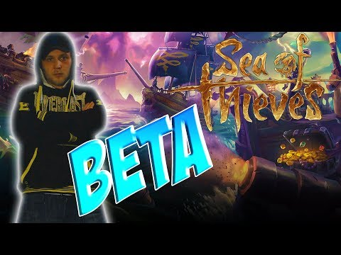 Sea Of Thieves Closed Bata Live Stream - Let's Hunt For Treasure - Road To 1K