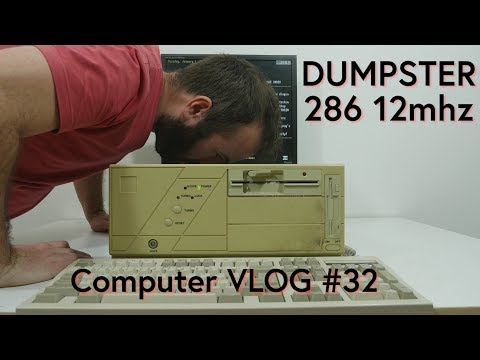Computer VLOG32: A Close look on the Hardware of the Dumpster 286