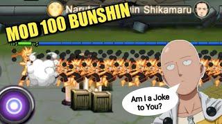 Gambar cover Bikin Rusuh Naruto keluarin 100 Bunshin sekali skill untung ada Saitama #14