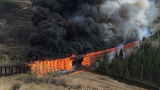 Trestle Fire Mayerthorpe Alberta original footage