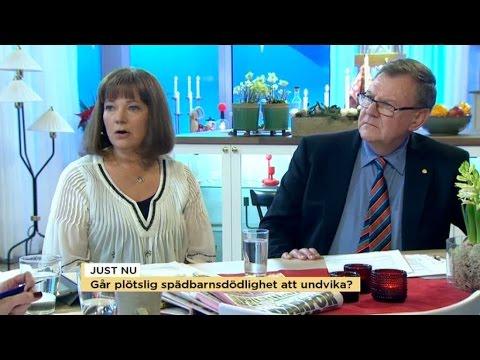 Experter ger råd om plötslig spädbarnsdöd - Nyhetsmorgon (TV4)
