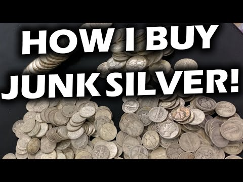HOW I BUY JUNK SILVER (Constitutional Silver) from a Local Coin Shop