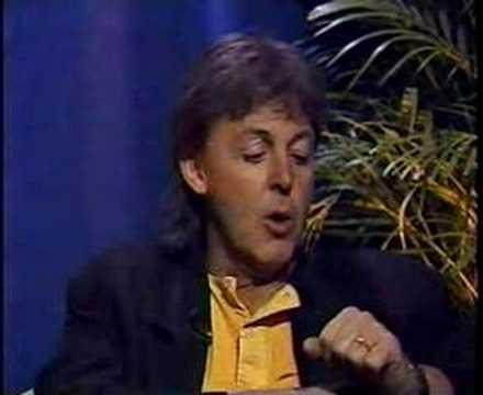 Paul McCartney on Criticism