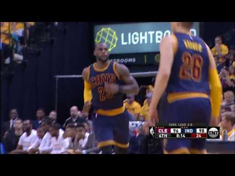 The Cavaliers and Pacers Go Back and Forth In The Fourth Quarter! | April 20, 2017