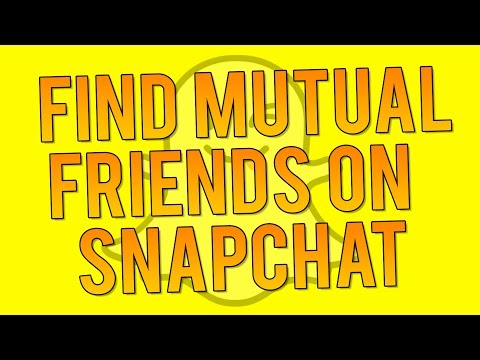 How do you know if your mutual best friends on snapchat