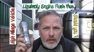 Liquimoly Engine Flush Plus. Did it break my high milage engine ?