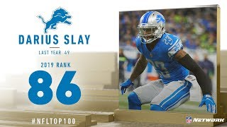 #86: Darius Slay (CB, Lions) | Top 100 Players of 2019 | NFL