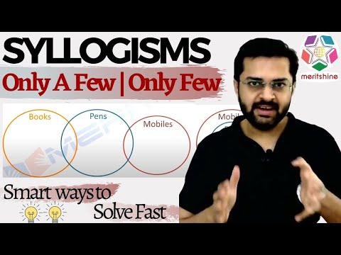 Syllogisms | Only A Few / Only Few