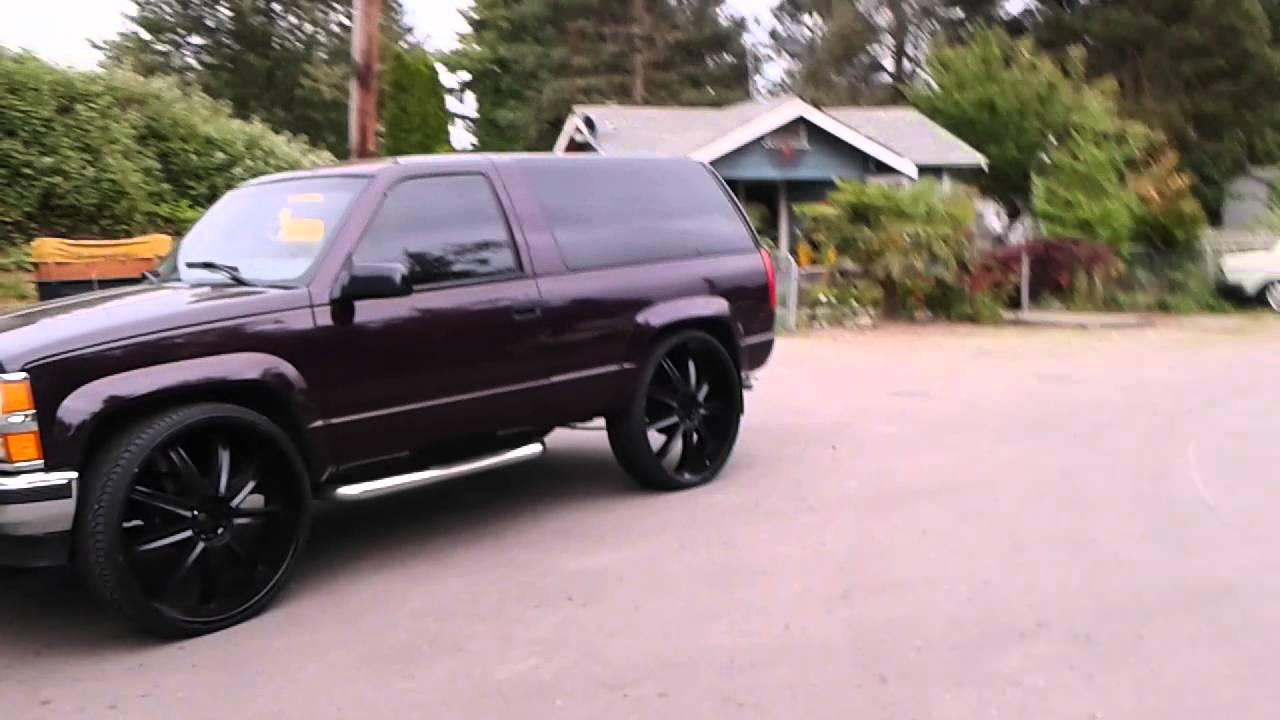 2 Door Tahoe On 30 S Washington Youtube