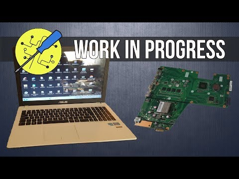 Replacement Of Motherboard On ASUS Laptop