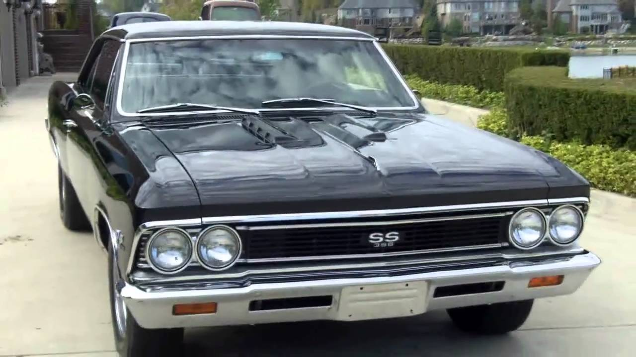 1966 Chevelle SS Rotisserie Restored Classic Muscle Car for Sale ...
