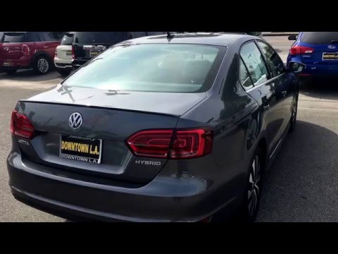 Certified 2013 Jetta Hybrid SEL Premium for Sale at VW of Downtown LA (ZV3844)
