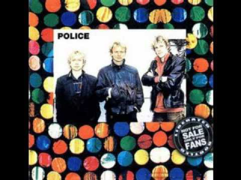 The Police. Synchronicity Tour Stockholm Sweden 14th Oct 1983