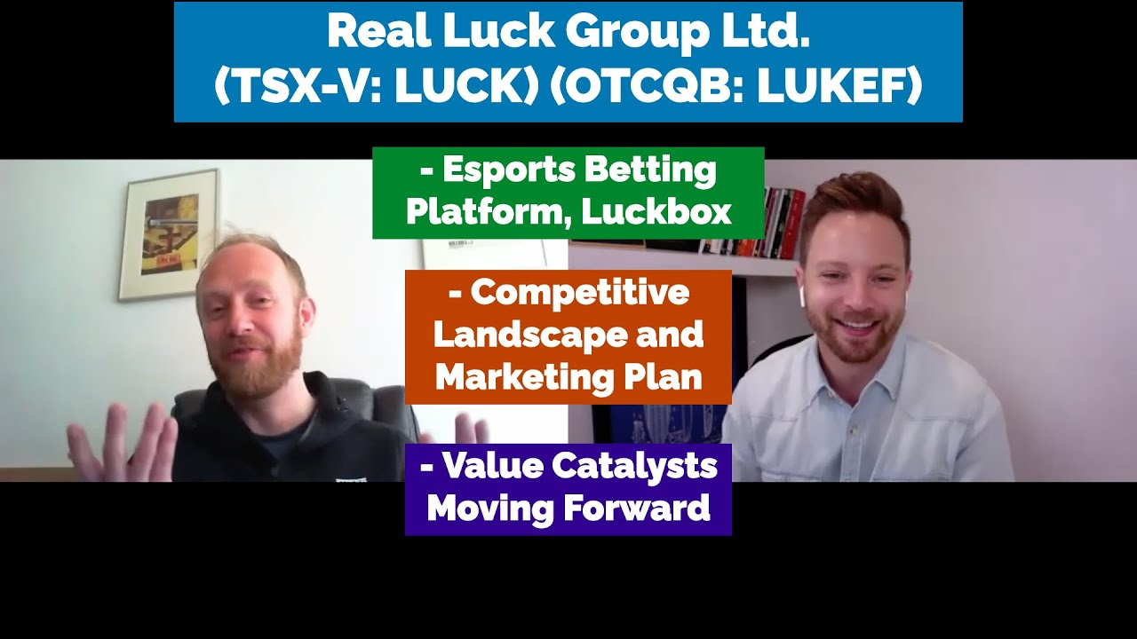 Real Luck Group on Esports Betting  | 202DC