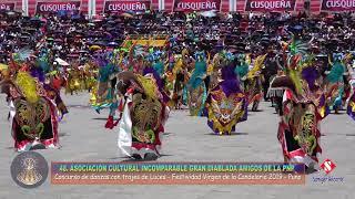INCOMPARABLE GRAN DIABLADA AMIGOS DE LA PNP - FESTIVIDAD VIRGEN DE LA CANDELARIA 2019