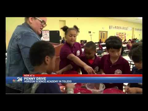 Horizon Science Academy Toledo starts penny war to raise funds for Harvey relief