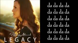 Tiffany Alvord - I Knew You Were The One - Lyrics HQ