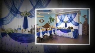 Свадебное оформление зала, 2016 год