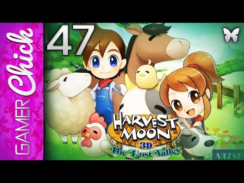 ❋ Harvest Moon: The Lost Valley-Gameplay/Walkthrough [Part 47 The Seeds Are MINE] (3DS) w/GamerChick