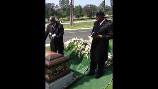 Soldiers final salute
