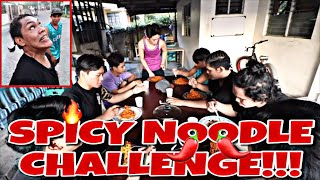 SPICY NOODLE CHALLENGE!!!