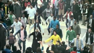 Official Zain Kuwait Flashmob - فلاش موب زين الكويت