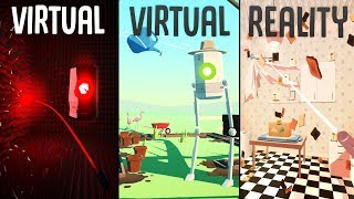 V-VR - The Weirdest Job Simulator - Humanity Is Obsolete - Virtual Virtual Reality (Oculus Rift VR)