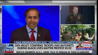 General Mark Milley Confirms National Guard Troops Had Bayonets During BLM-Antifa Riots, Arson in DC
