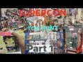 watch he video of VLOG: SUPERCON 2017 TOYHUNTING! Full vendor showing! Pops! Legends!