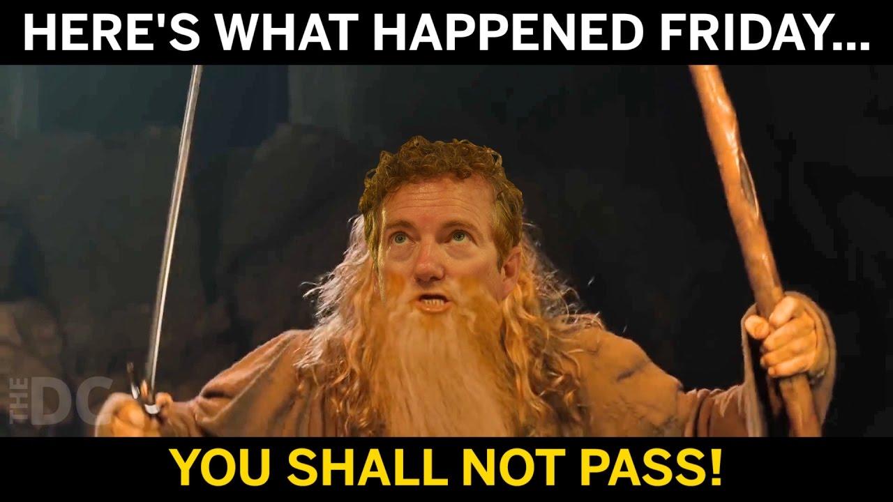 u shall not pass