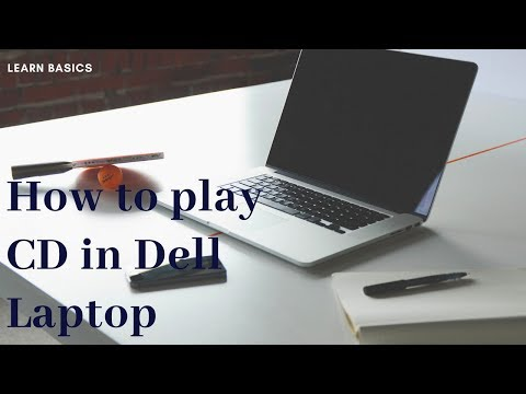 how to watch a cd in a laptop